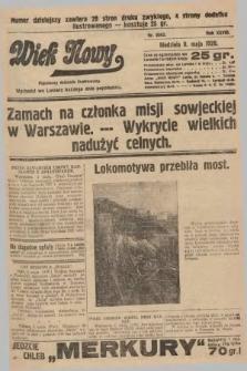 Wiek Nowy : popularny dziennik ilustrowany. 1928, nr8062