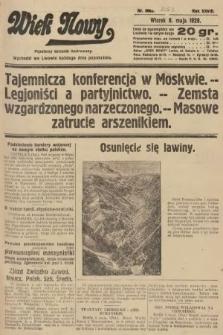 Wiek Nowy : popularny dziennik ilustrowany. 1928, nr8063