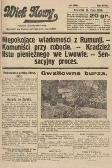 Wiek Nowy : popularny dziennik ilustrowany. 1928, nr8065