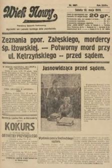 Wiek Nowy : popularny dziennik ilustrowany. 1928, nr8067