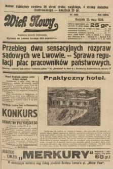 Wiek Nowy : popularny dziennik ilustrowany. 1928, nr8068