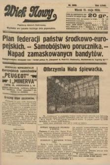 Wiek Nowy : popularny dziennik ilustrowany. 1928, nr8069