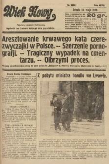 Wiek Nowy : popularny dziennik ilustrowany. 1928, nr8072