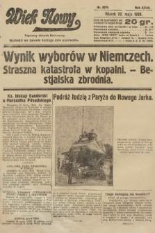 Wiek Nowy : popularny dziennik ilustrowany. 1928, nr8074