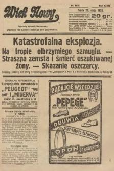 Wiek Nowy : popularny dziennik ilustrowany. 1928, nr8075