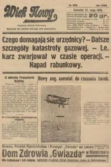 Wiek Nowy : popularny dziennik ilustrowany. 1928, nr8076