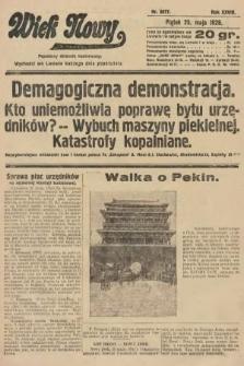 Wiek Nowy : popularny dziennik ilustrowany. 1928, nr8077