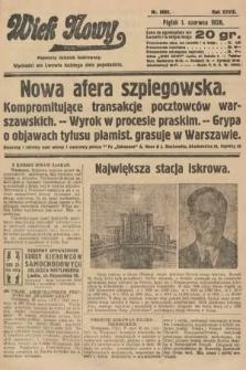 Wiek Nowy : popularny dziennik ilustrowany. 1928, nr8082
