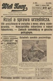 Wiek Nowy : popularny dziennik ilustrowany. 1928, nr8083