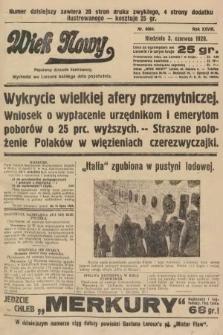 Wiek Nowy : popularny dziennik ilustrowany. 1928, nr8084