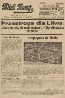 Wiek Nowy : popularny dziennik ilustrowany. 1928, nr8086
