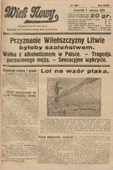 Wiek Nowy : popularny dziennik ilustrowany. 1928, nr8087