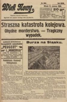 Wiek Nowy : popularny dziennik ilustrowany. 1928, nr8090