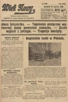 Wiek Nowy : popularny dziennik ilustrowany. 1928, nr8092