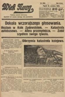 Wiek Nowy : popularny dziennik ilustrowany. 1928, nr8093