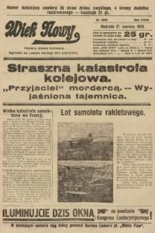 Wiek Nowy : popularny dziennik ilustrowany. 1928, nr8095