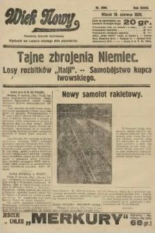Wiek Nowy : popularny dziennik ilustrowany. 1928, nr8096