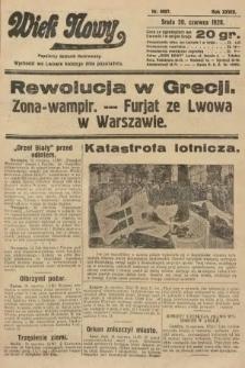 Wiek Nowy : popularny dziennik ilustrowany. 1928, nr8097