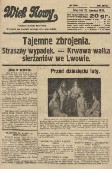 Wiek Nowy : popularny dziennik ilustrowany. 1928, nr8098