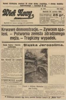 Wiek Nowy : popularny dziennik ilustrowany. 1928, nr8101