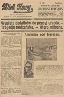 Wiek Nowy : popularny dziennik ilustrowany. 1928, nr8104