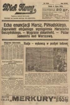 Wiek Nowy : popularny dziennik ilustrowany. 1928, nr8108