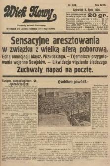 Wiek Nowy : popularny dziennik ilustrowany. 1928, nr8109