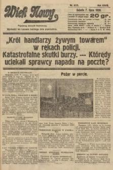 Wiek Nowy : popularny dziennik ilustrowany. 1928, nr8111