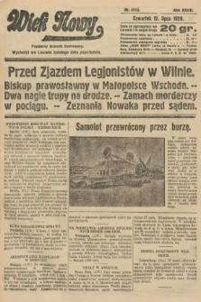 Wiek Nowy : popularny dziennik ilustrowany. 1928, nr8115