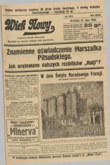 Wiek Nowy : popularny dziennik ilustrowany. 1928, nr8118