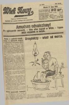 Wiek Nowy : popularny dziennik ilustrowany. 1928, nr8119