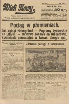Wiek Nowy : popularny dziennik ilustrowany. 1928, nr8120