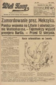 Wiek Nowy : popularny dziennik ilustrowany. 1928, nr8121