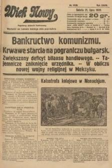 Wiek Nowy : popularny dziennik ilustrowany. 1928, nr8123