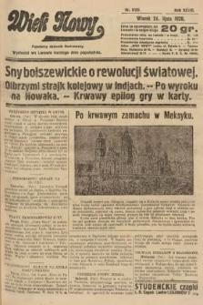 Wiek Nowy : popularny dziennik ilustrowany. 1928, nr8125