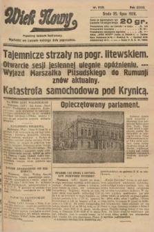Wiek Nowy : popularny dziennik ilustrowany. 1928, nr8126
