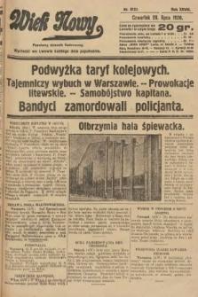 Wiek Nowy : popularny dziennik ilustrowany. 1928, nr8127