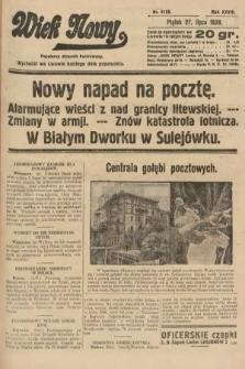 Wiek Nowy : popularny dziennik ilustrowany. 1928, nr8128