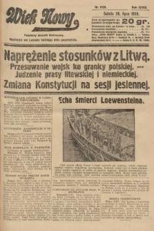 Wiek Nowy : popularny dziennik ilustrowany. 1928, nr8129