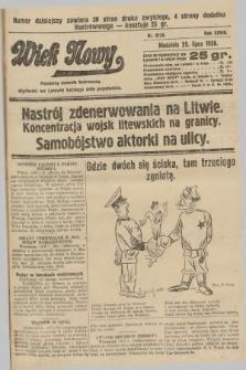 Wiek Nowy : popularny dziennik ilustrowany. 1928, nr8130