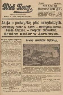 Wiek Nowy : popularny dziennik ilustrowany. 1928, nr8131