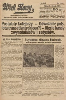 Wiek Nowy : popularny dziennik ilustrowany. 1928, nr8134