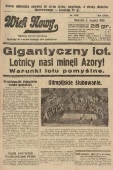 Wiek Nowy : popularny dziennik ilustrowany. 1928, nr8136