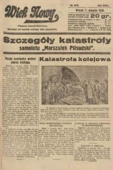 Wiek Nowy : popularny dziennik ilustrowany. 1928, nr8137