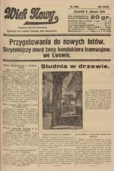 Wiek Nowy : popularny dziennik ilustrowany. 1928, nr8139