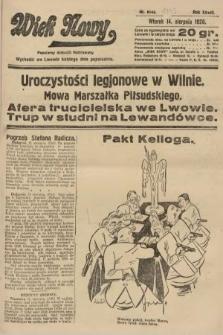 Wiek Nowy : popularny dziennik ilustrowany. 1928, nr8143