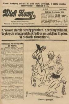 Wiek Nowy : popularny dziennik ilustrowany. 1928, nr8147