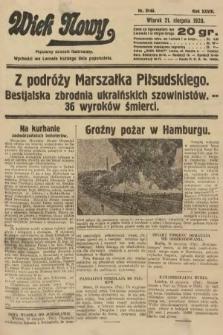 Wiek Nowy : popularny dziennik ilustrowany. 1928, nr8148