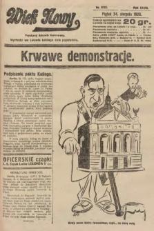 Wiek Nowy : popularny dziennik ilustrowany. 1928, nr8151