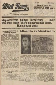 Wiek Nowy : popularny dziennik ilustrowany. 1928, nr8152